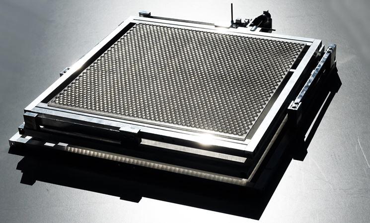 Prototipo di concentratore a ologrammi