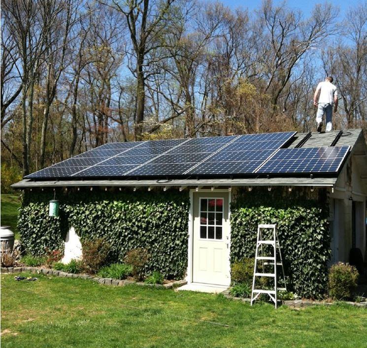 Impianto fotovoltaico fai da te sul tetto