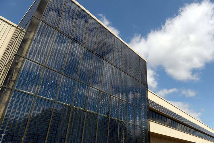 Fotovoltaico integrato in facciata