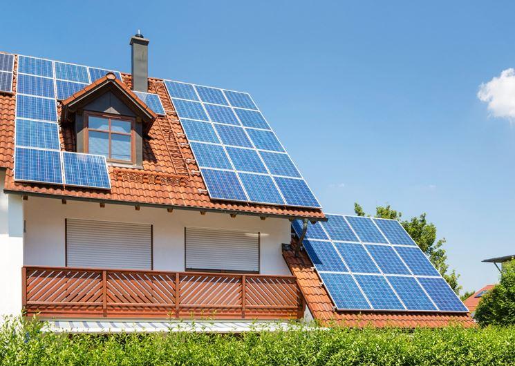 Impianto solare su abitazione privata