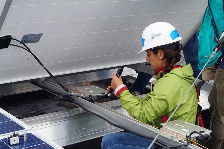 Controllo funzionalità impianto fotovoltaico