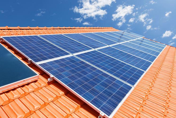 Pannelli fotovoltaici per grandi superfici