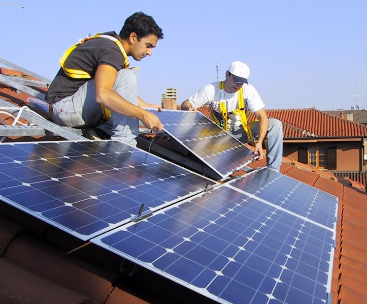 Orientamento a Sud pannelli fotovoltaici