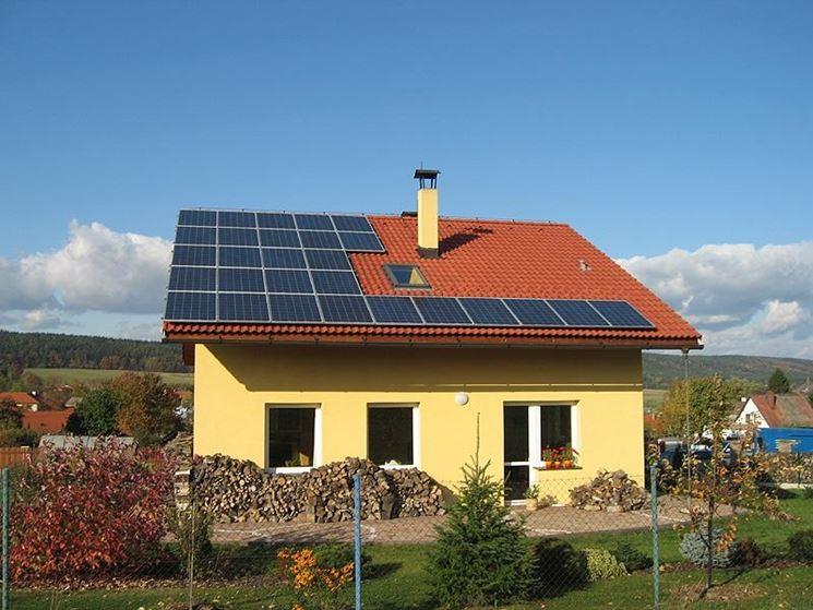 Fotovoltaico su nuova costruzione