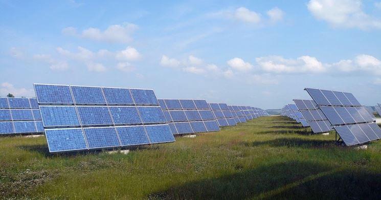 Una installazione fotovoltaica