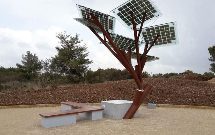 progetto fotovoltaico Etree
