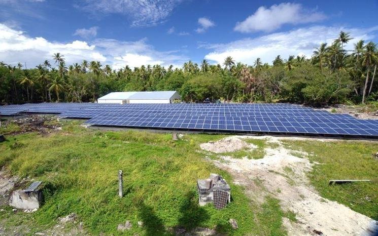 Progetto fotovoltaico a Tokelau