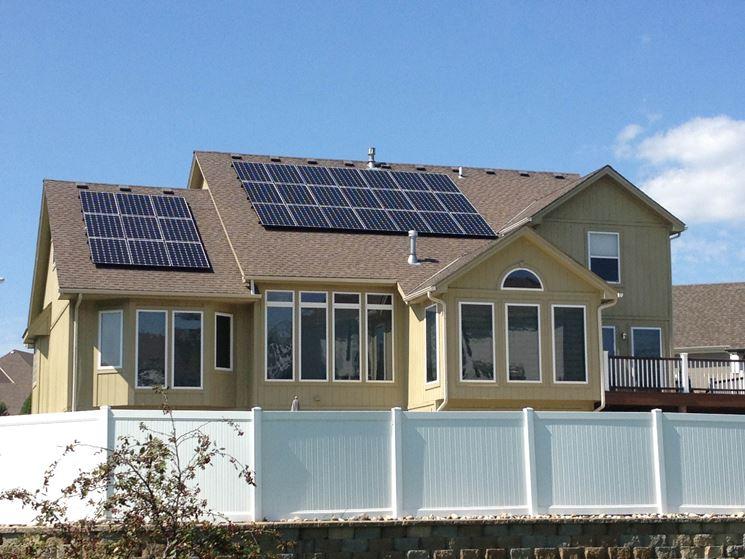 Impianto da 30 pannelli solari