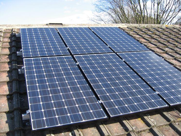 6 moduli fotovoltaici