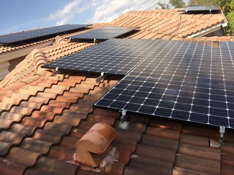Sistema fotovoltaico connesso alla rete
