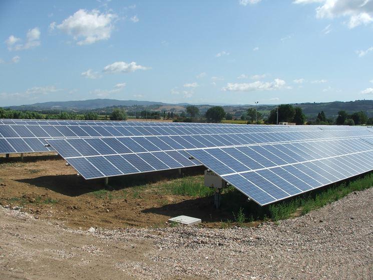 Fotovoltaico in campo aperto