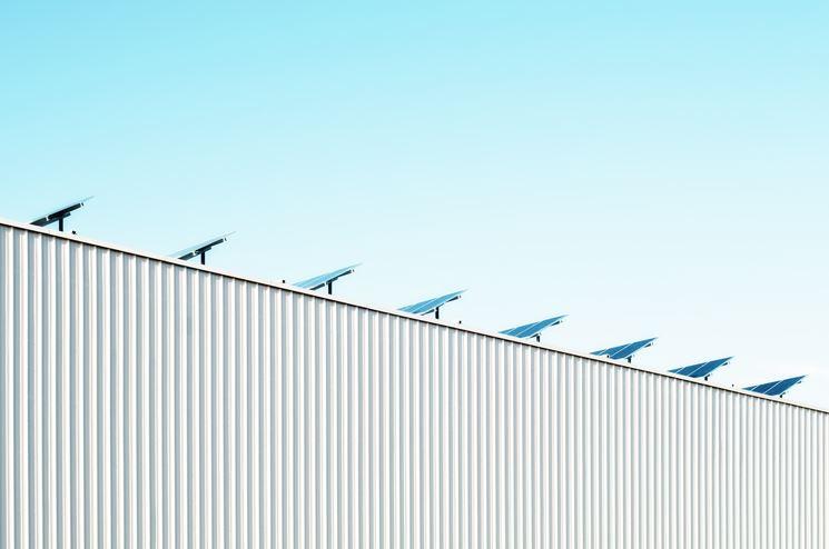 Esempio di moduli solari