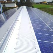Impianto fotovoltaico su tetto inclinato