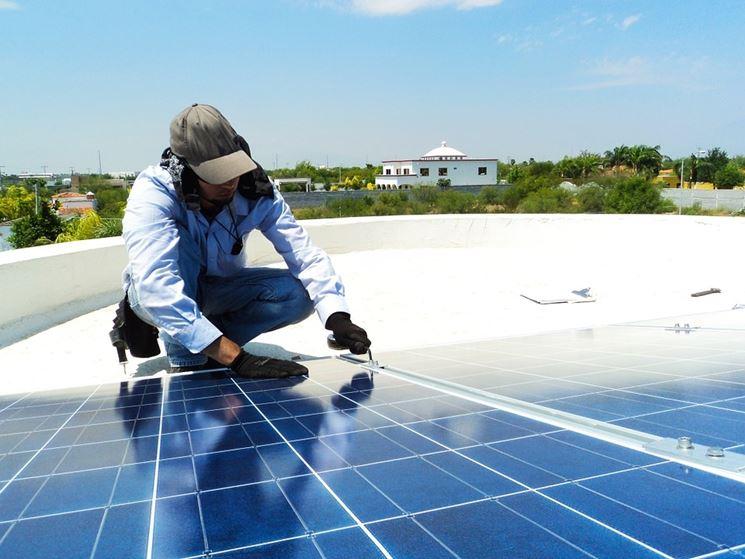 Installare pannelli fotovoltaici