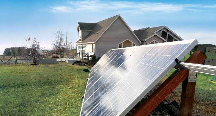 Kit fotovoltaico a terra