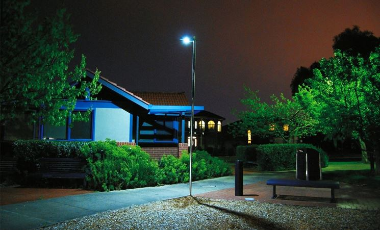 Lampione fotovoltaico
