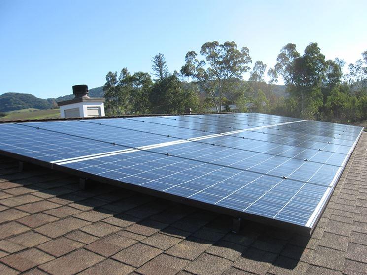 Collegamento dei pannelli fotovoltaici in serie