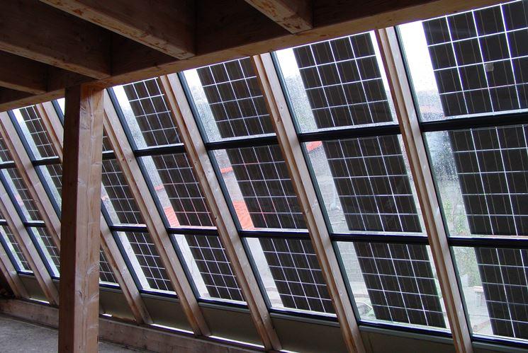 Finestre pannelli fotovoltaici