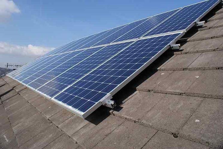 Esempio di pannello solare