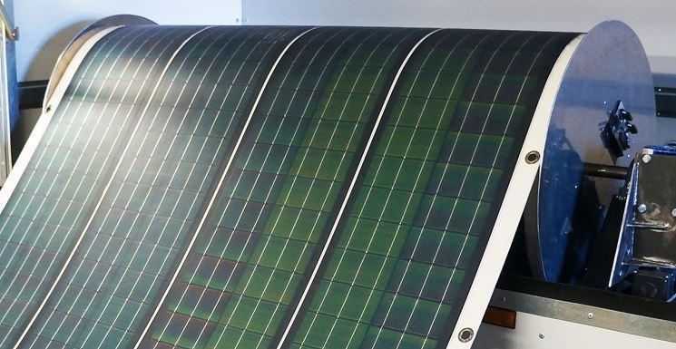 Struttura dei pannelli fotovoltaici