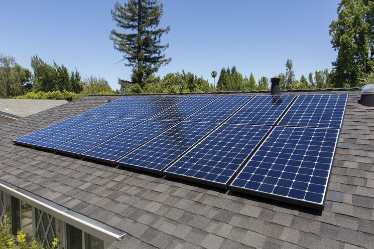 Pannelli solari fotovoltaici multipli