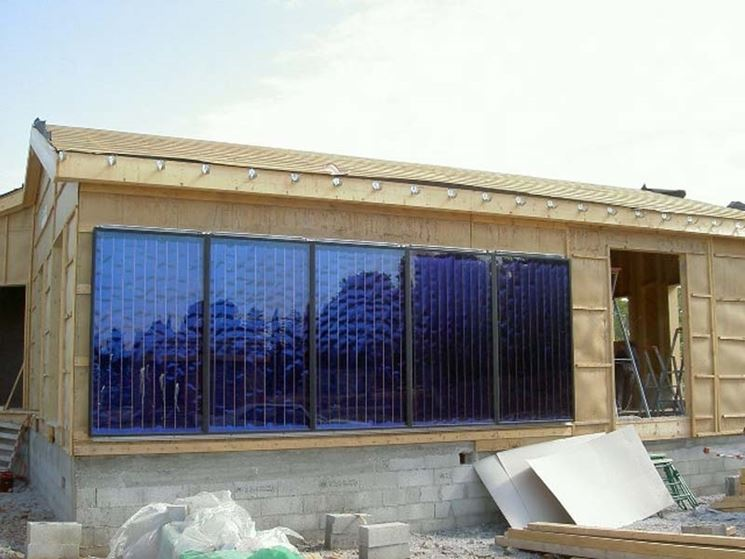 Pannello fotovoltaico muro