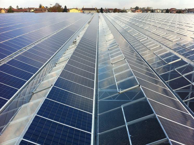 Grandi serre fotovoltaiche
