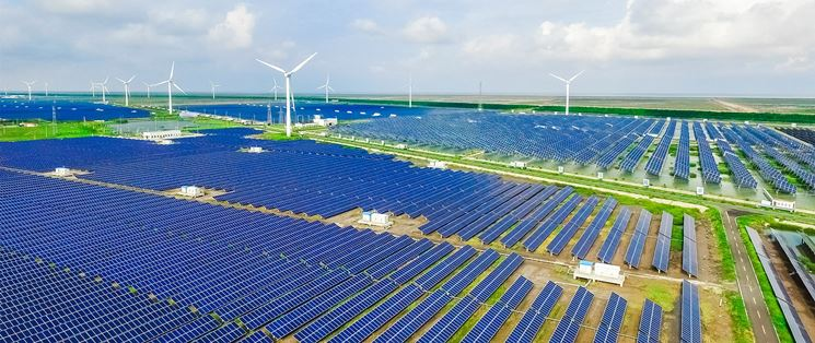 Impianto eolico e fotovoltaico