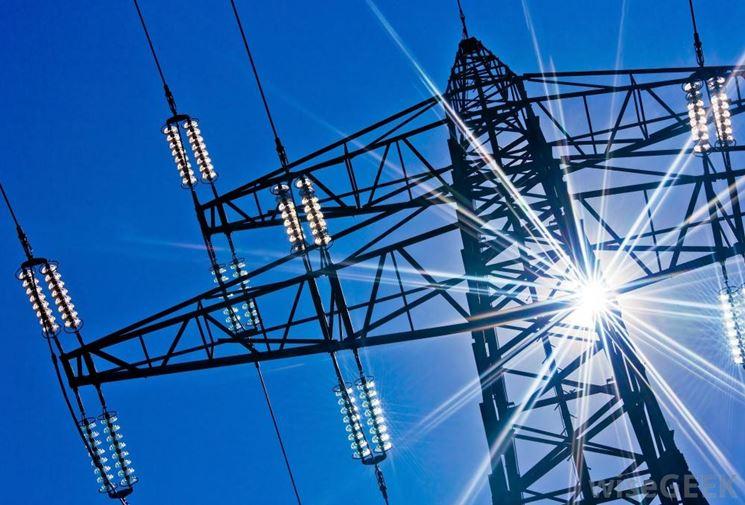 Le strutture che trasportano l'elettricità