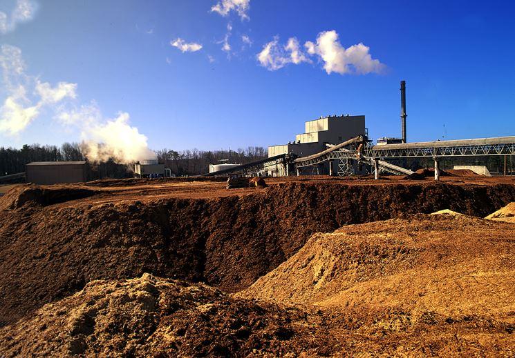 Sito di stoccaggio delle biomasse.