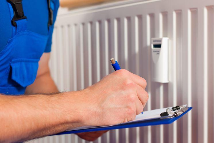 Controllo contabilizzatore di calore