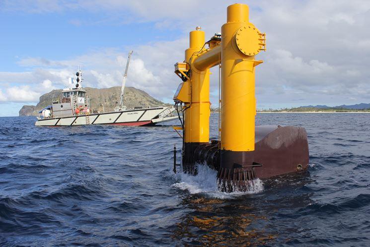 Sfruttamento corrente marina