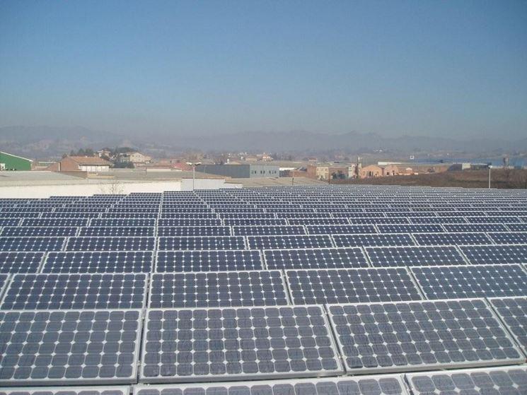 Il fotovoltaico e i pannelli solari.