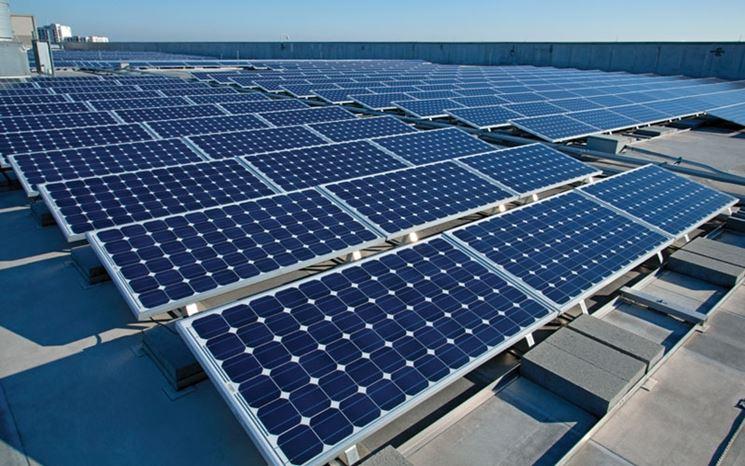Impianto pannelli solari