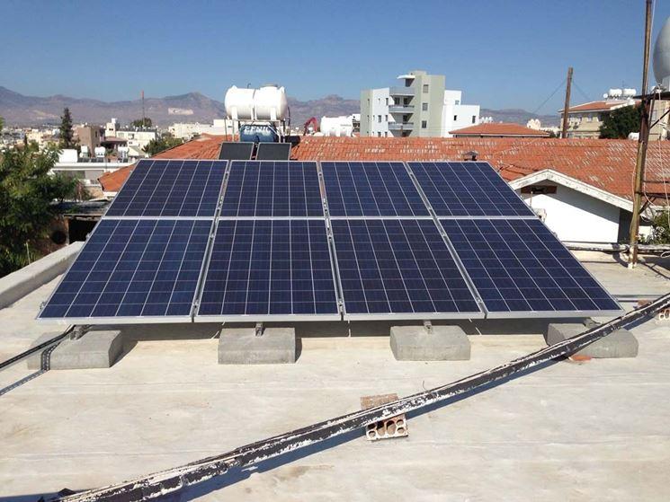 Sistema di riscaldamento solare