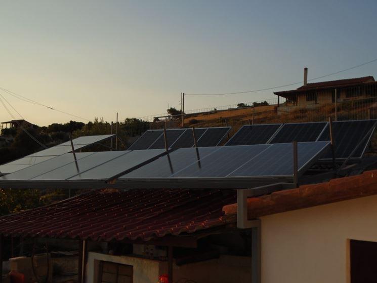 Piccolo impianto solare