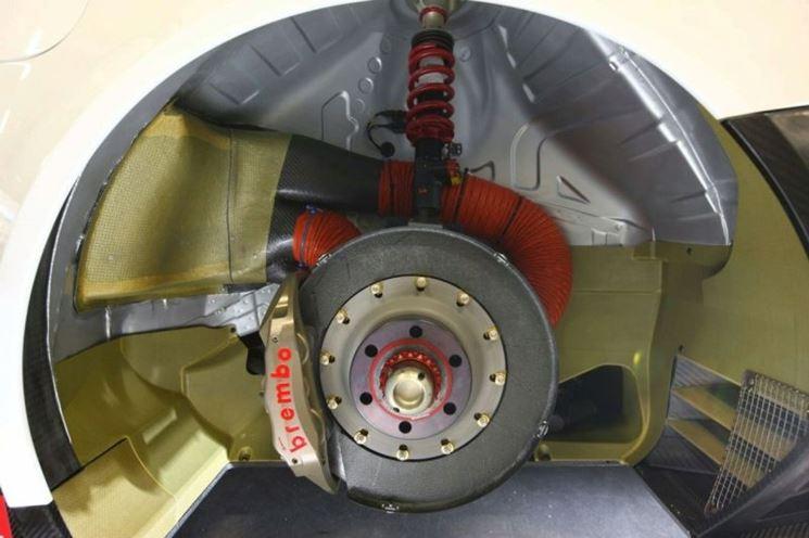 Rotore all'interno di un motore