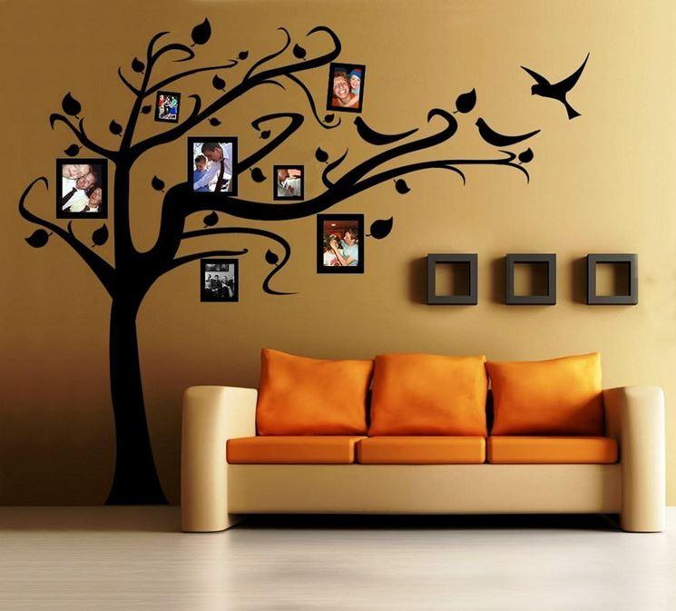 Stencil soggiorno