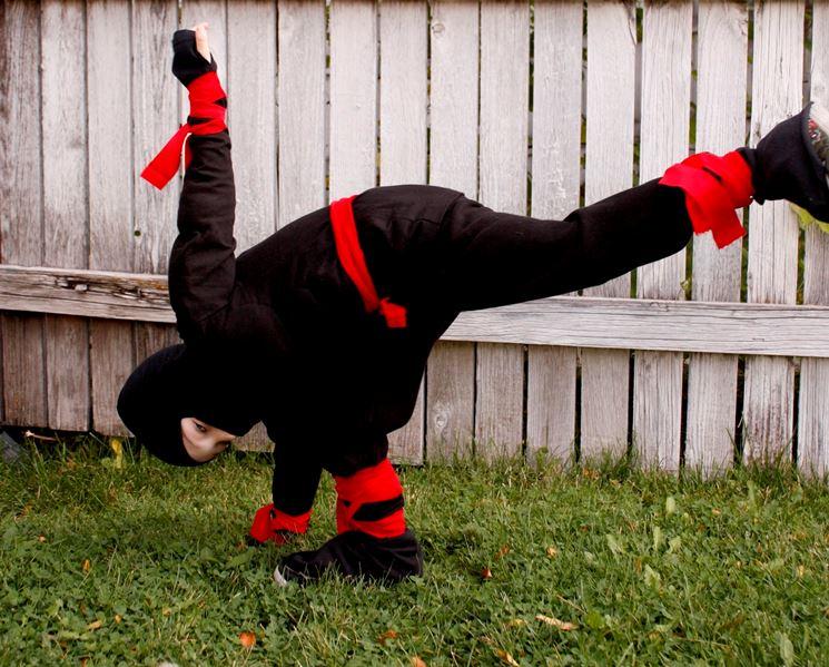 Un piccolo ninja