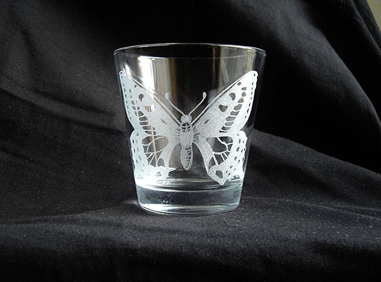 acidatura vetro