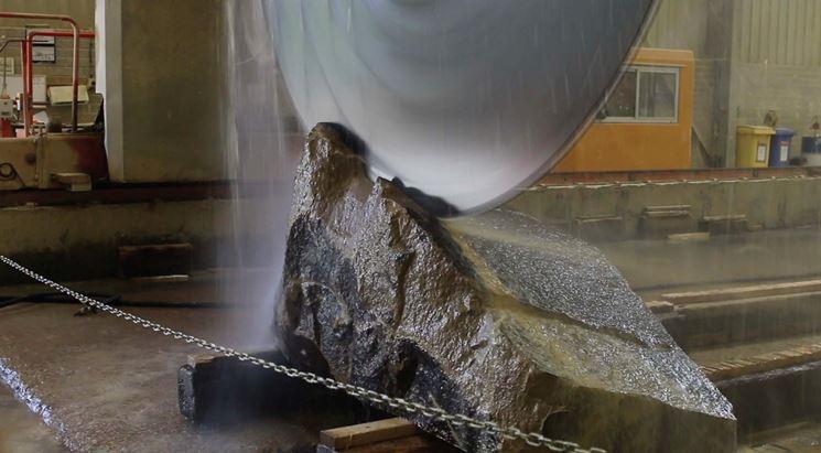Lavorazione della pietra