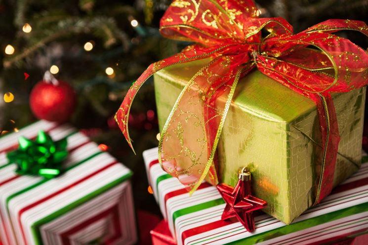 Regali di Natale impacchettati