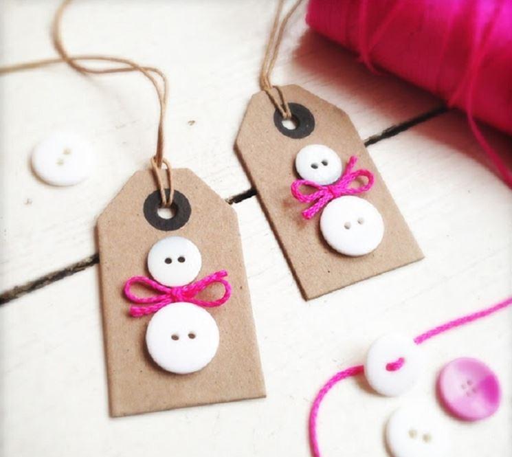 Targhette personalizzate per i regali di Natale