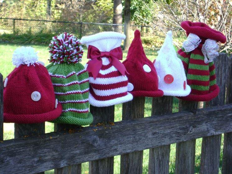 Berretti di lana come regali di Natale