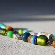 Collana con perline diverse