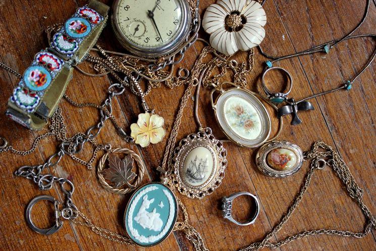 materiali per creare bijou vintage