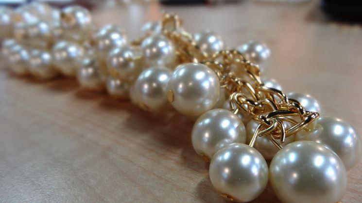 collana fai da te con perle