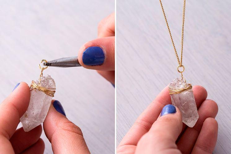 Come fare una collana con pietre dure