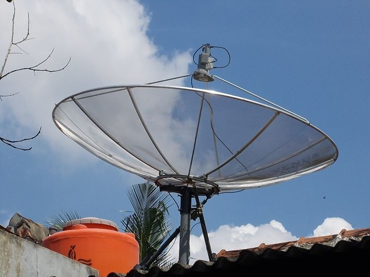 Parabola tetto