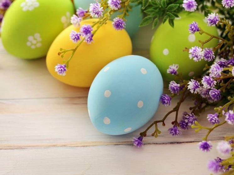 Albero di Pasqua decorato